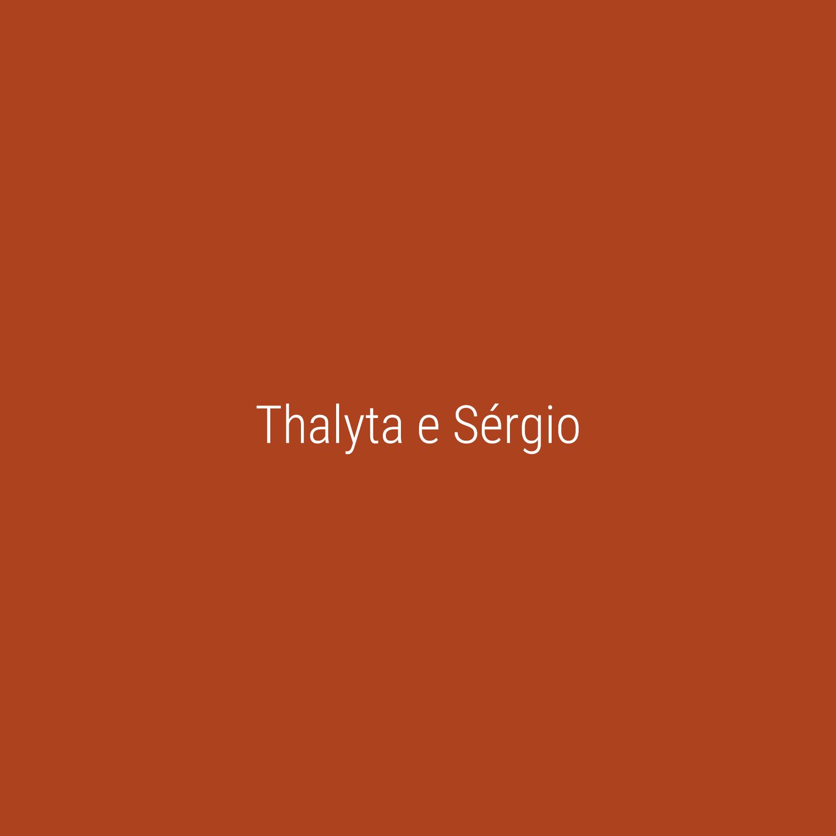 Thalyta e Sérgio